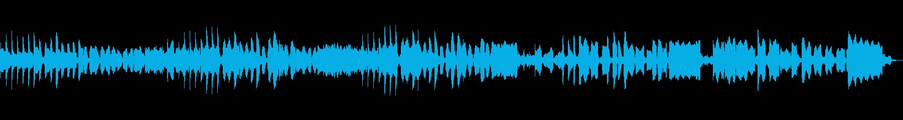 リコーダー、ビブラフォン使用のどかな曲の再生済みの波形