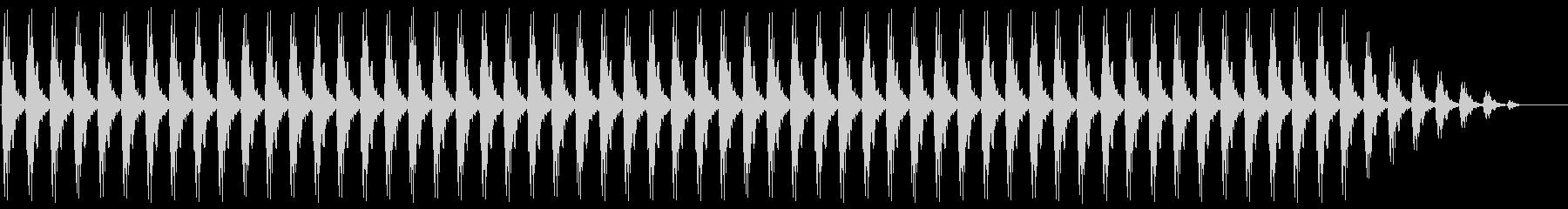 クリスマスの鈴(低め、テンポ遅い)の未再生の波形