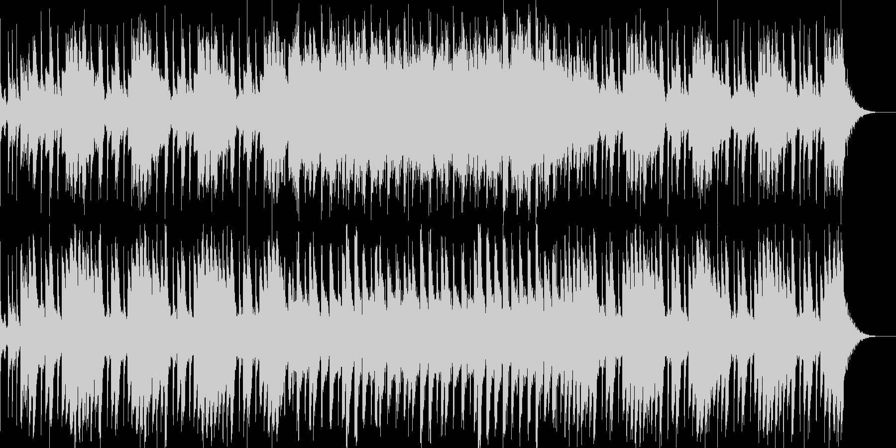 間抜けかわいいBGMの未再生の波形
