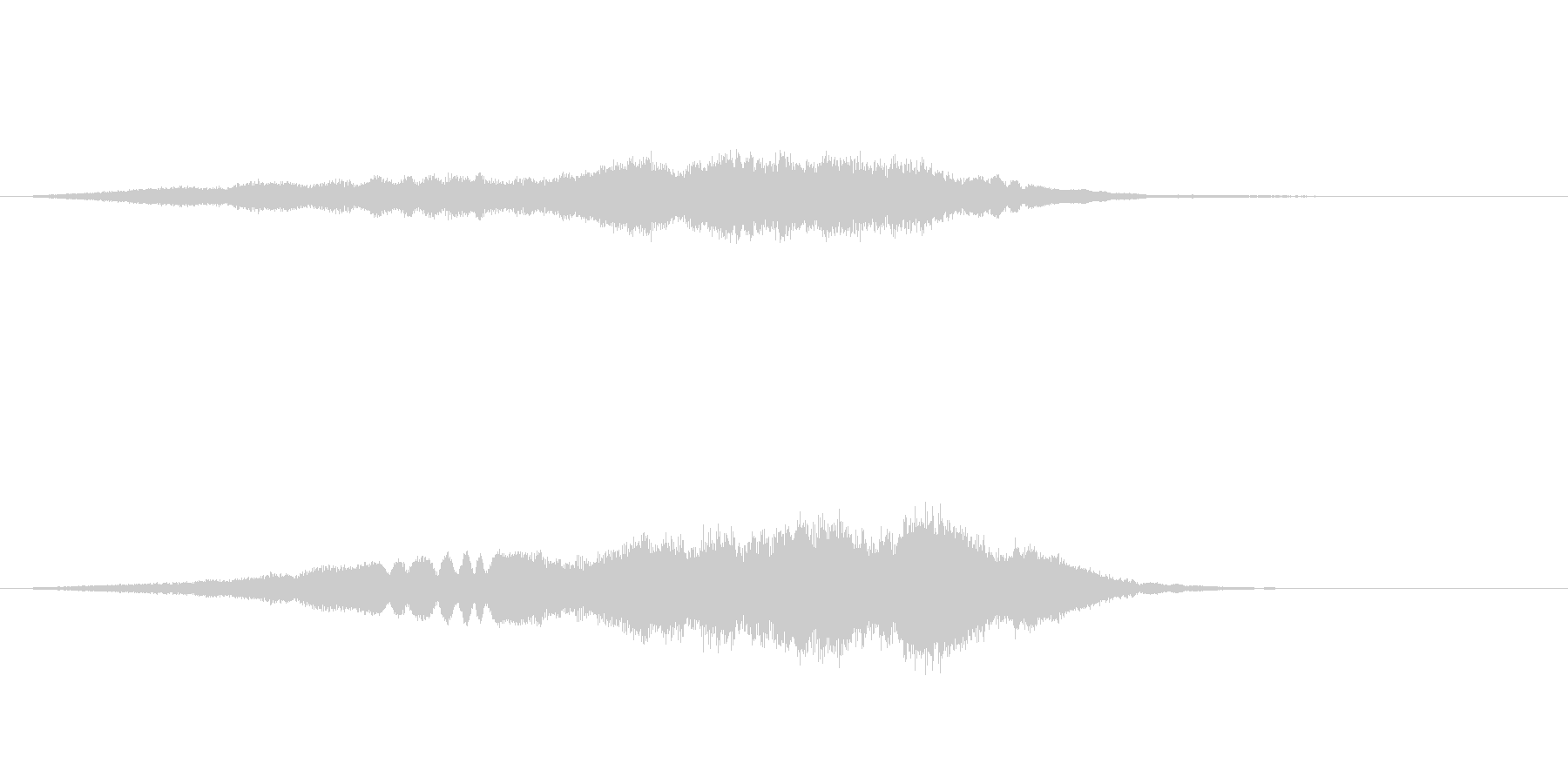 【SE 効果音】不気味な音10の未再生の波形