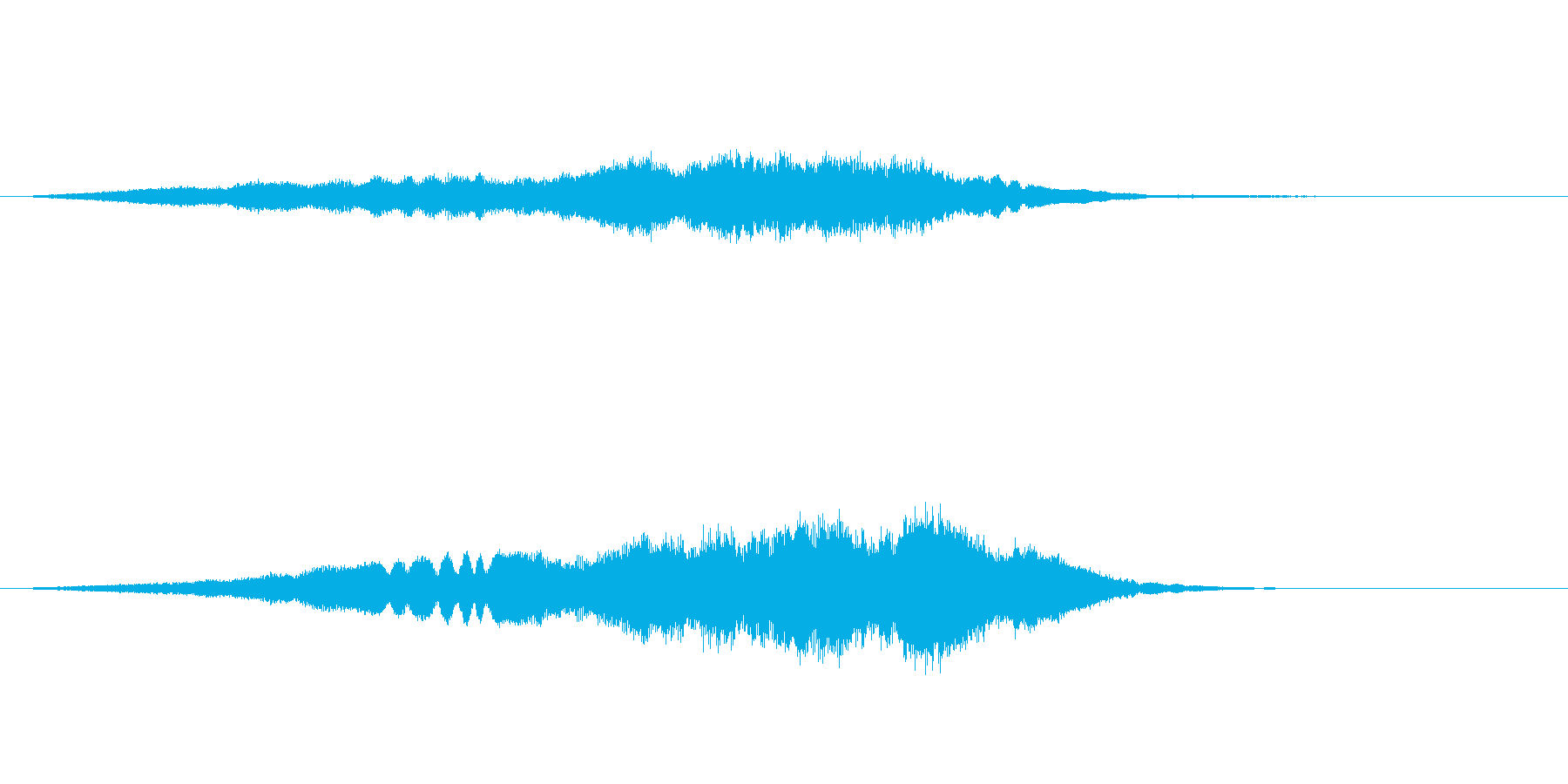 【SE 効果音】不気味な音10の再生済みの波形