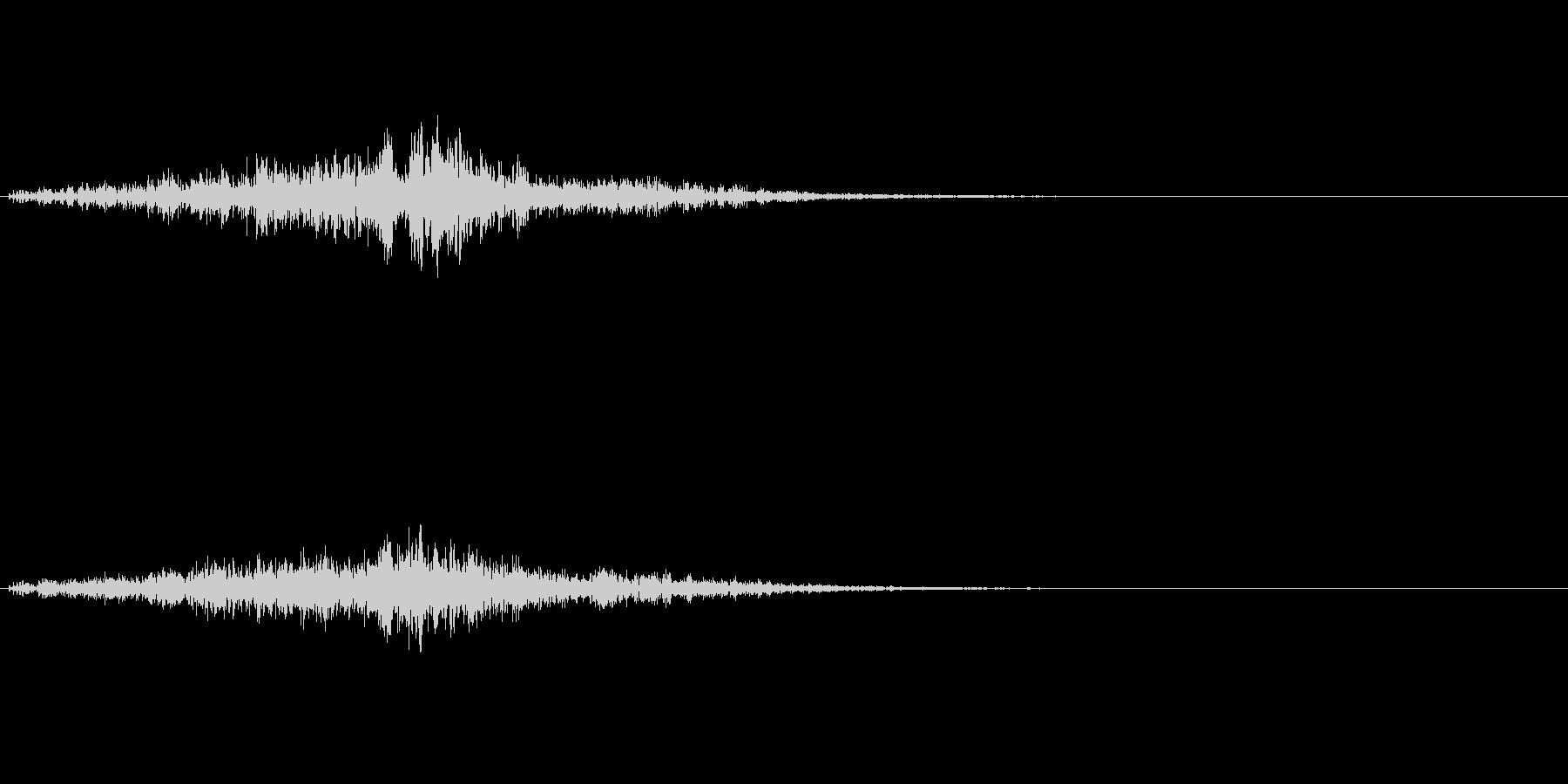 ポタポタッ…(水の魔法、エフェクト)の未再生の波形