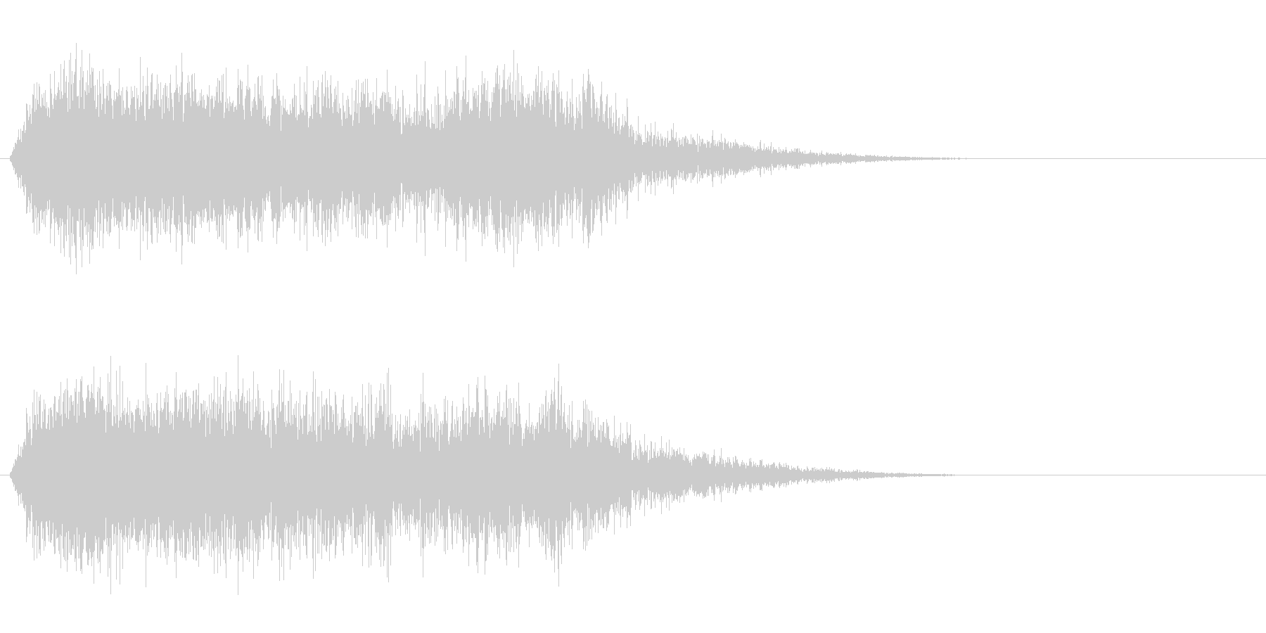 竜/ドラゴン/モンスターの鳴き声!02の未再生の波形