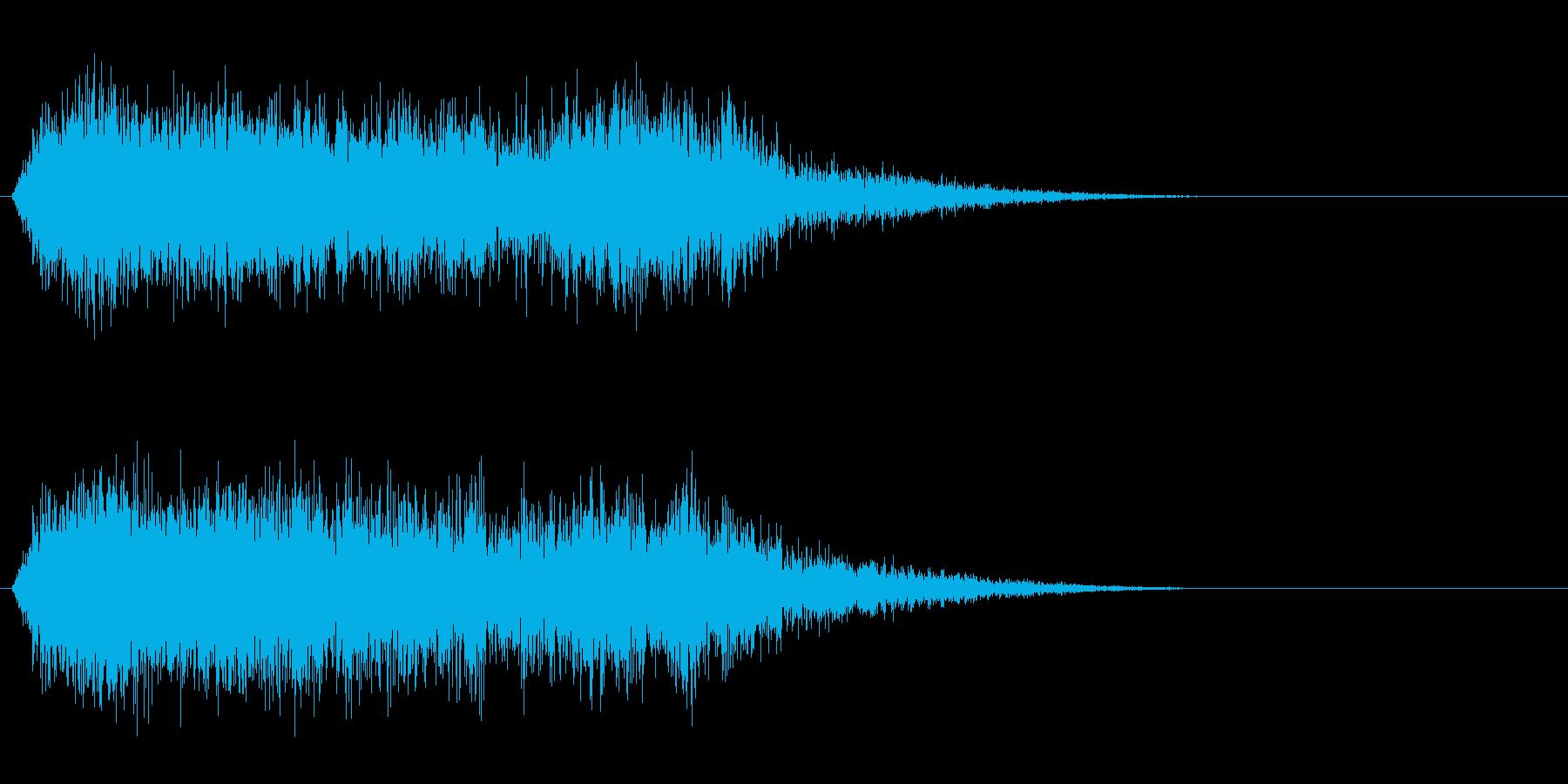 竜/ドラゴン/モンスターの鳴き声!02の再生済みの波形