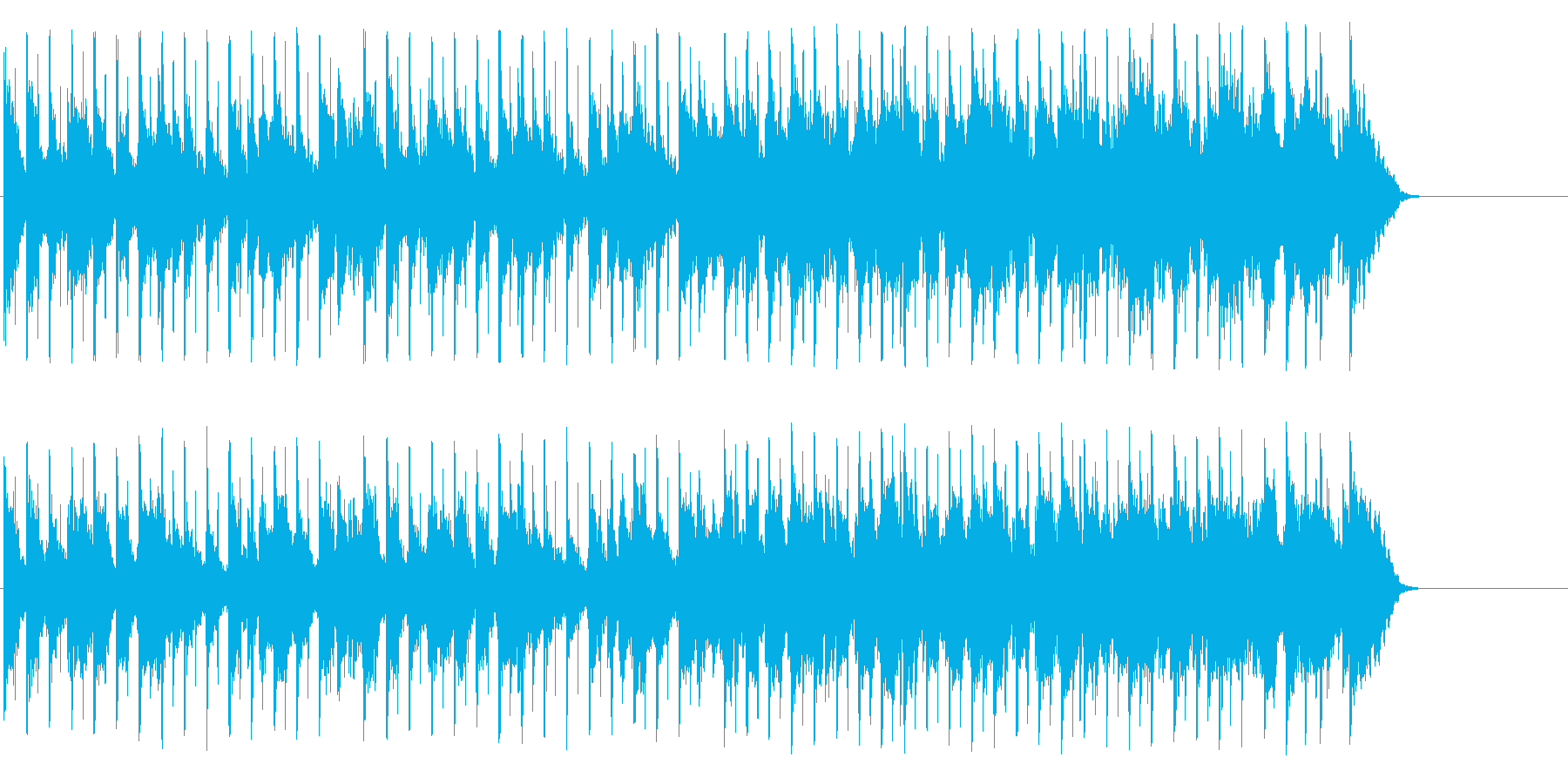 家族団欒風のんびりポップ(A~サビ~…)の再生済みの波形