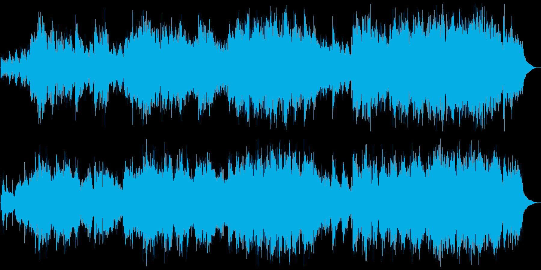 ピアノ 壮大 哀愁 ファンタジー の再生済みの波形