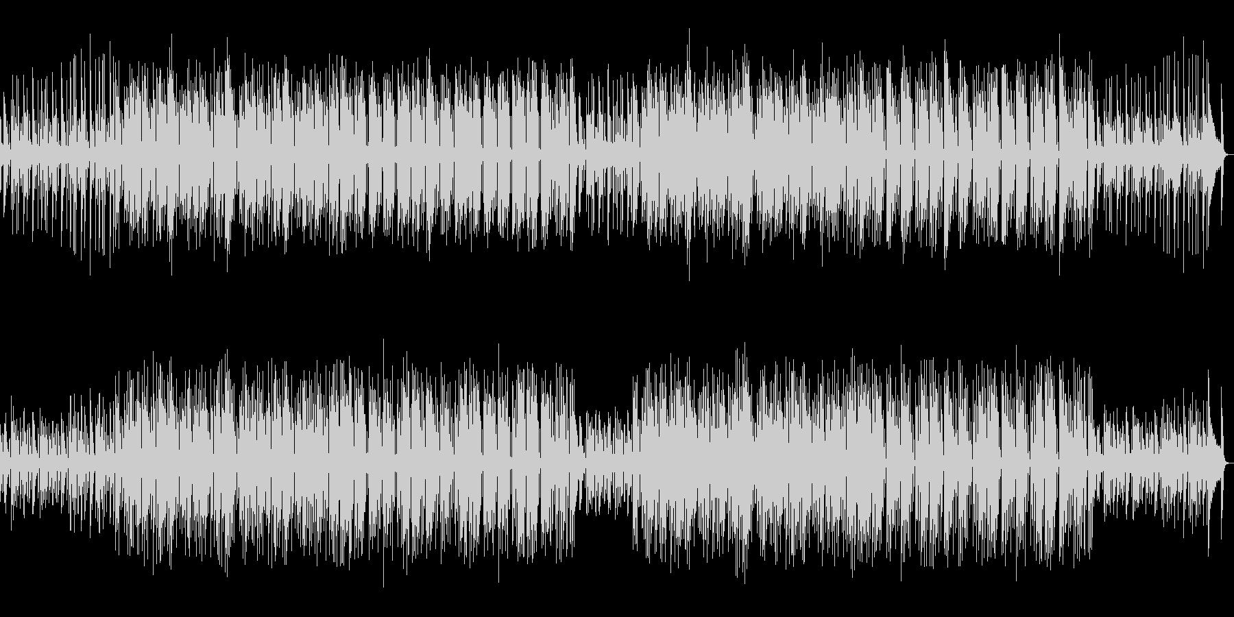 ほのぼのしたボサノヴァティストの曲の未再生の波形