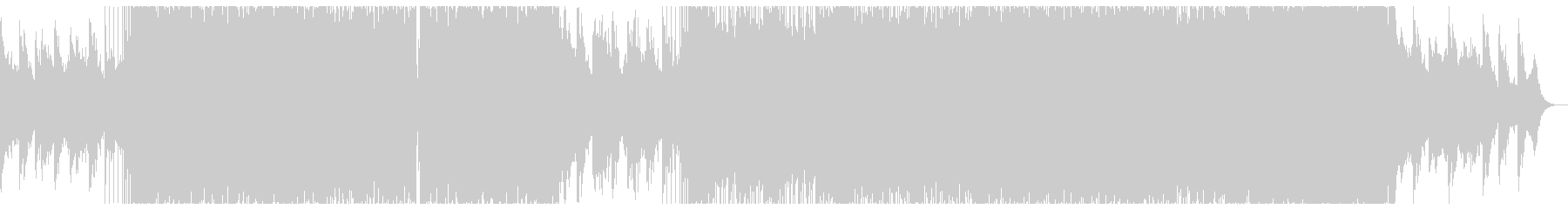 ピアノの穏やかなリキッドドラムンベース。の未再生の波形