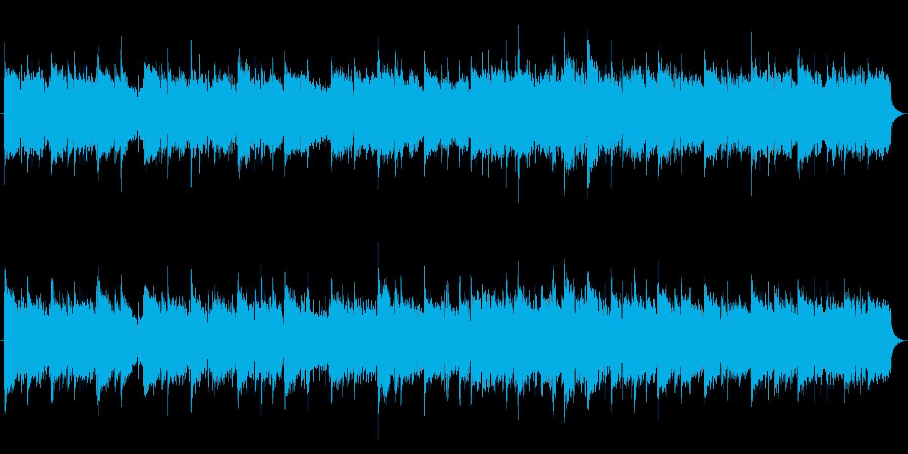 感動的なオーケストラサウンドの再生済みの波形