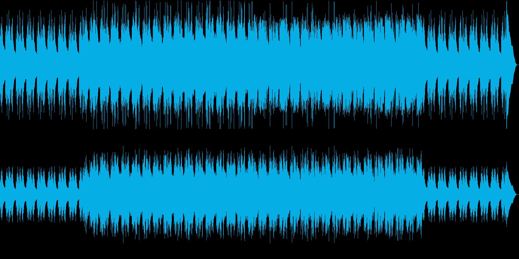 おばけの森 RPG風の再生済みの波形