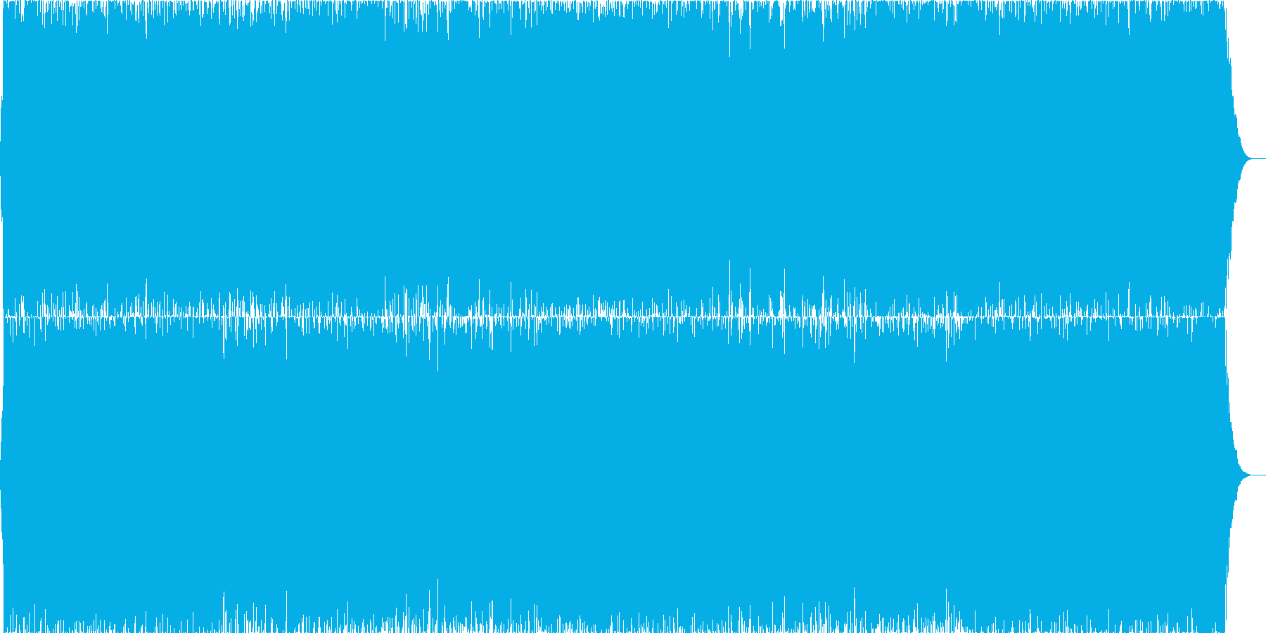 ダークファンタジーオーケストラ戦闘曲9の再生済みの波形