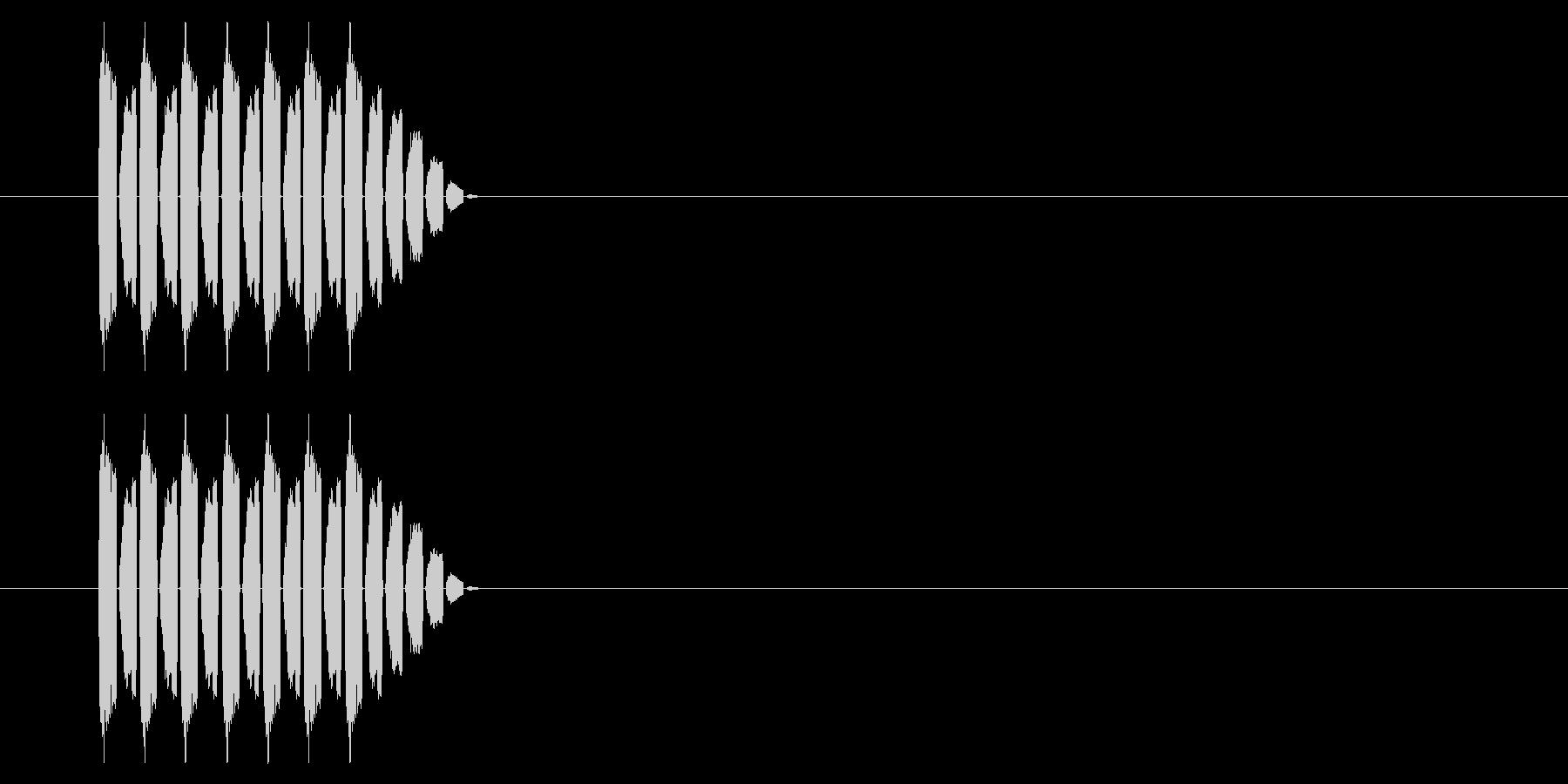 SNES シューティング02-09(ダメの未再生の波形