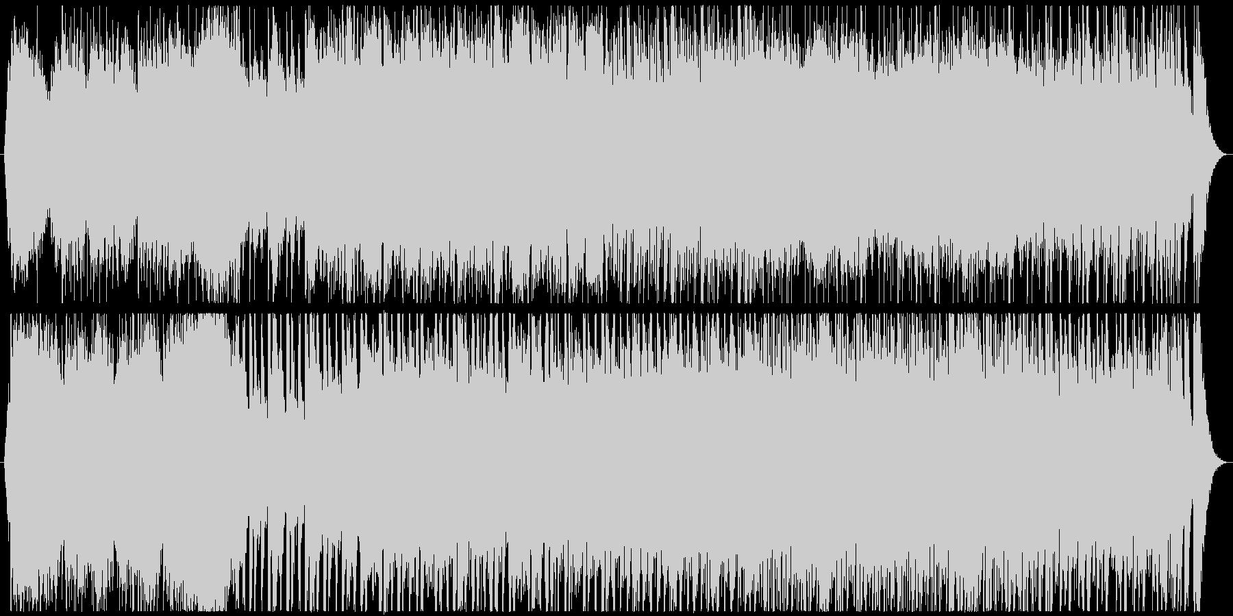 シネマティックなアジアンオーケストラの未再生の波形