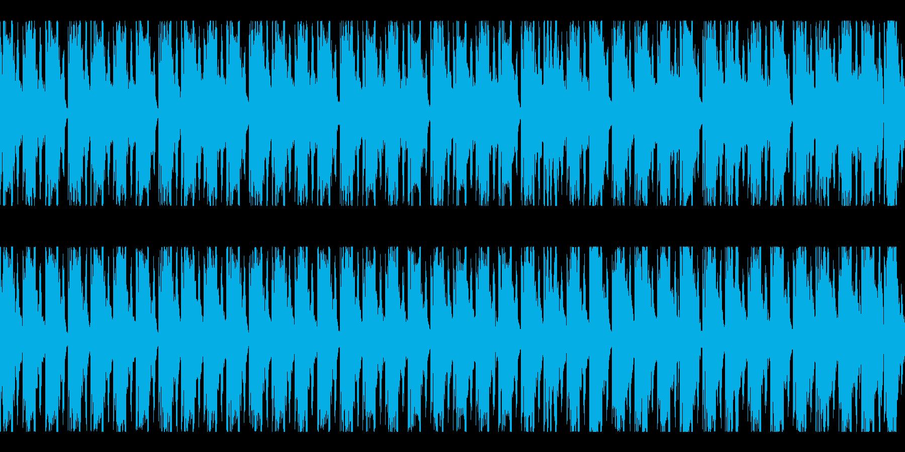 4つ打ち、ジングル、パーティ、イベントLの再生済みの波形