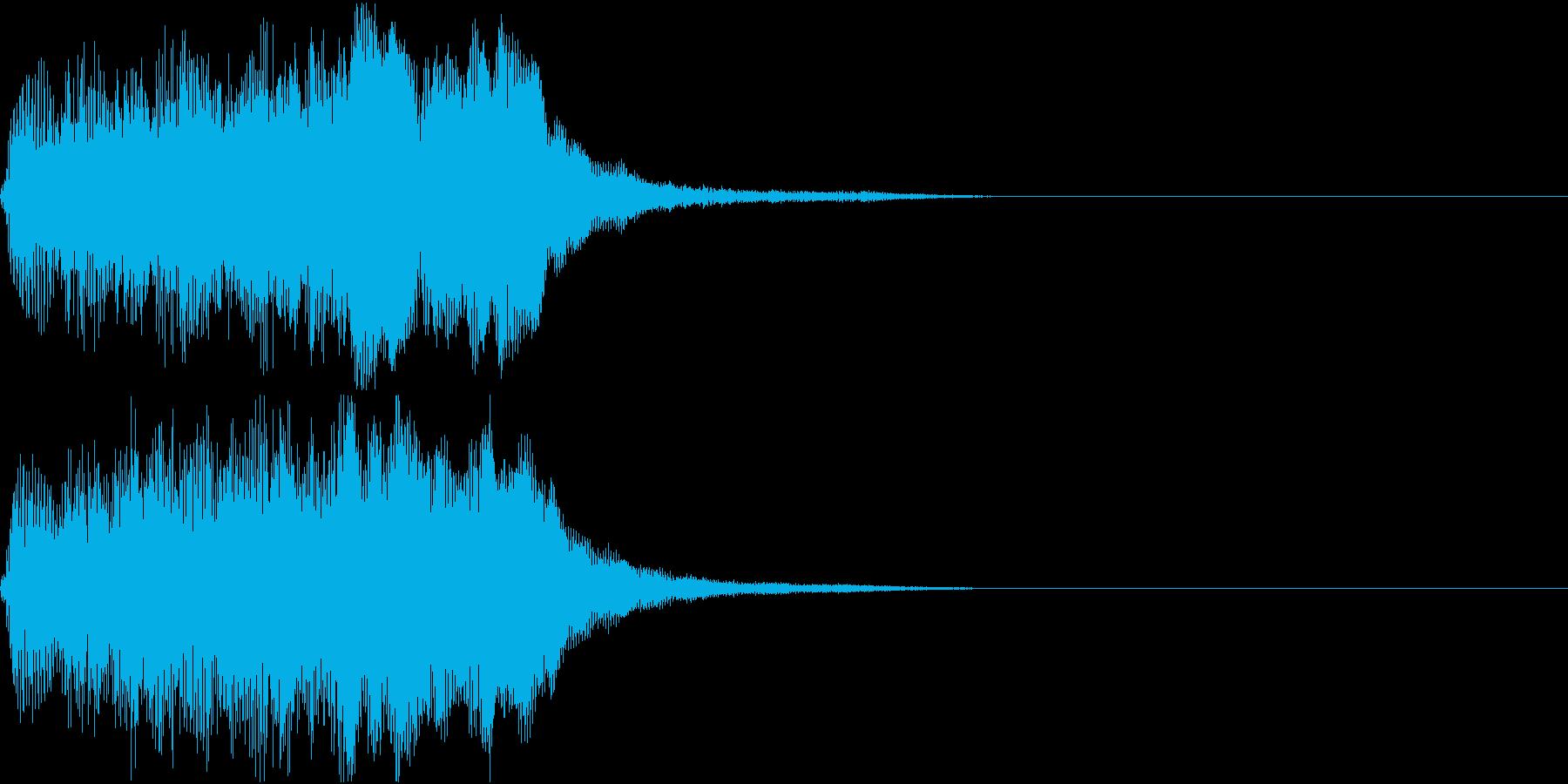 ラッパ ファンファーレ 定番 17 早いの再生済みの波形