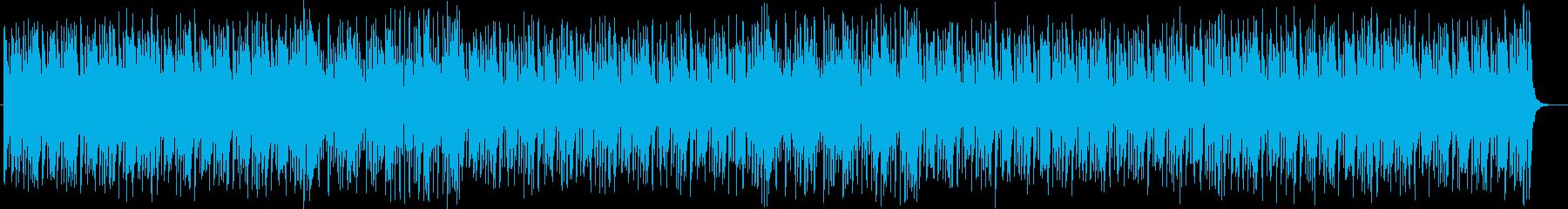 陽気なピアノポップスの再生済みの波形