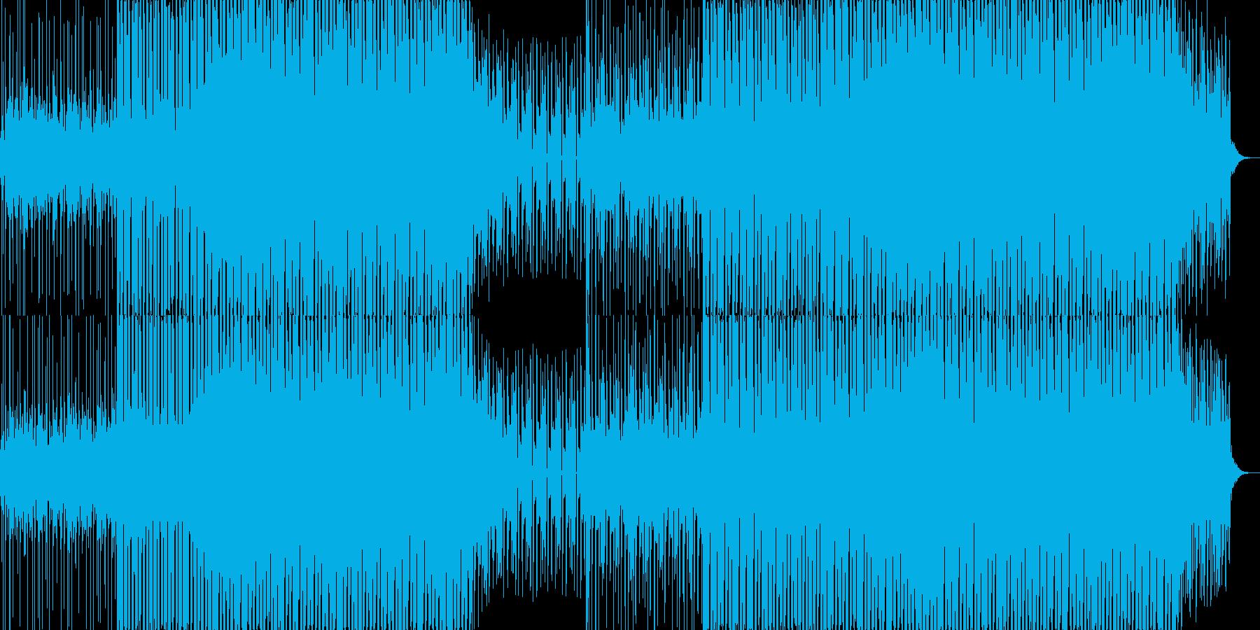 EDMクラブ系ダンスミュージック-84の再生済みの波形