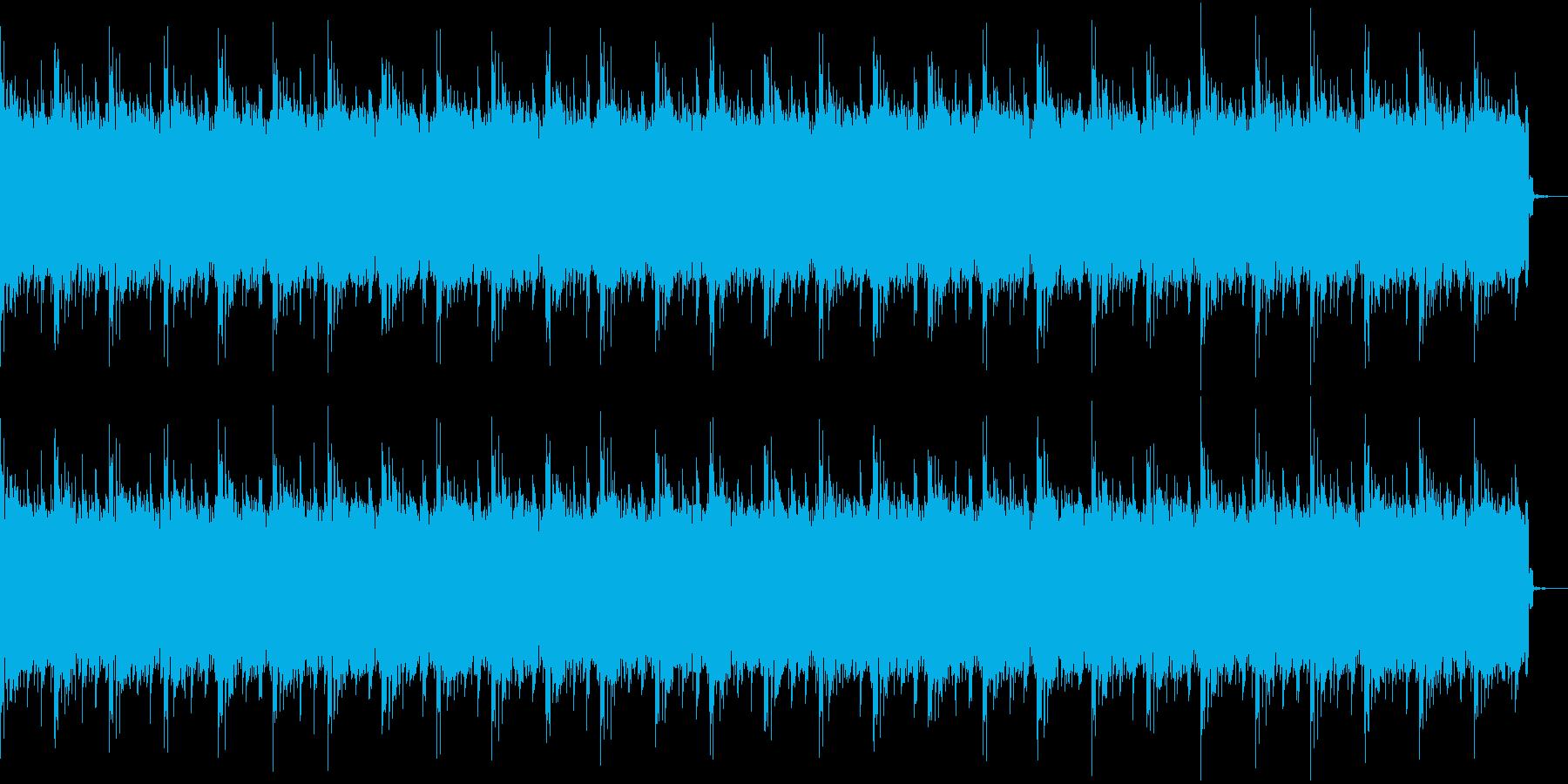 日常風景に合うBGMの再生済みの波形