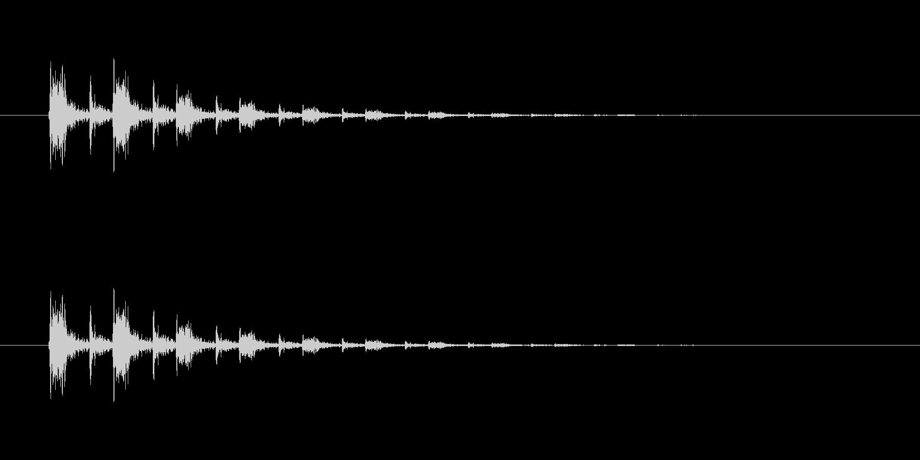 【掴む02-3】の未再生の波形