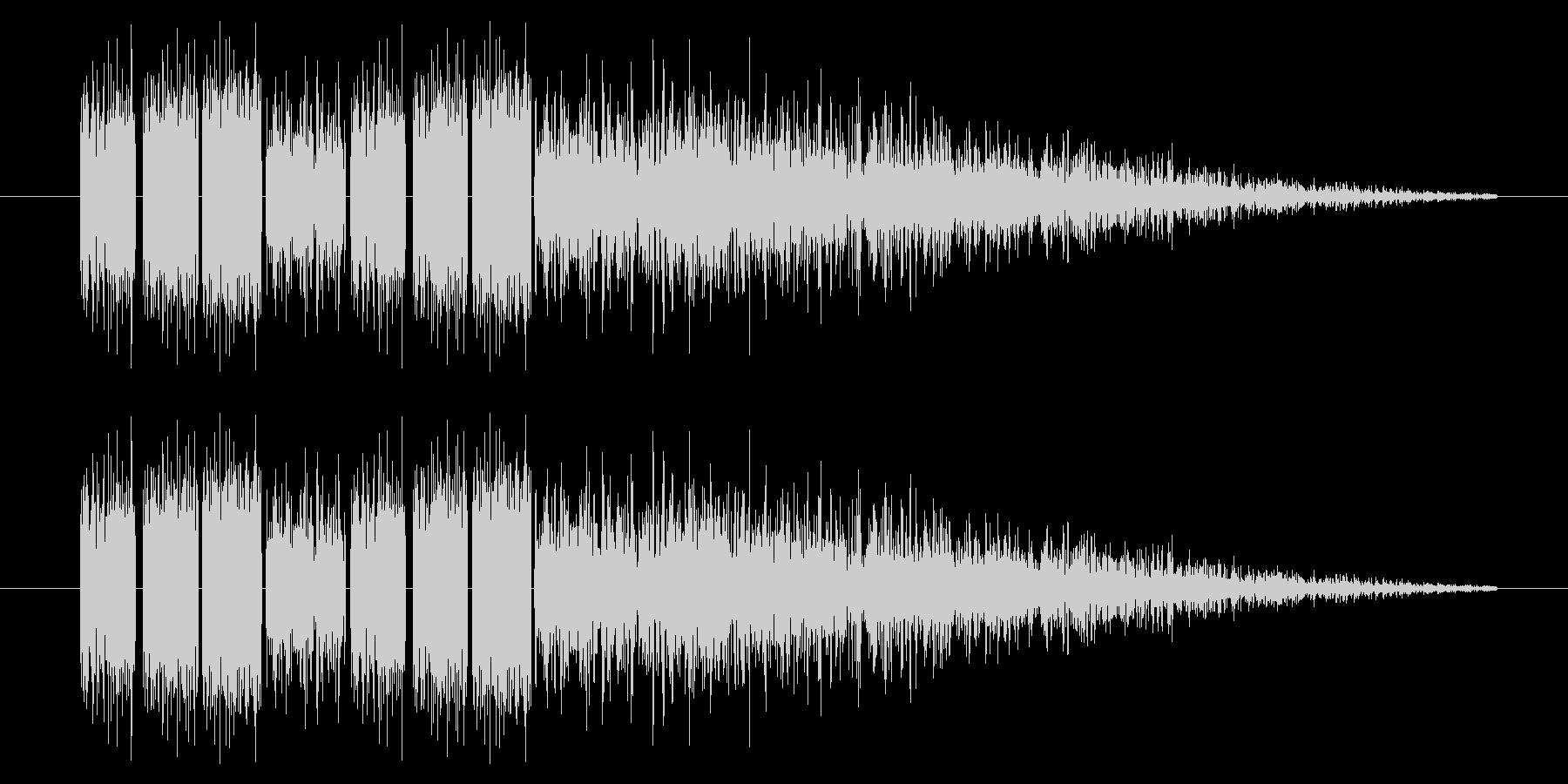 SNES-RPG04-07(魔法 雷3)の未再生の波形