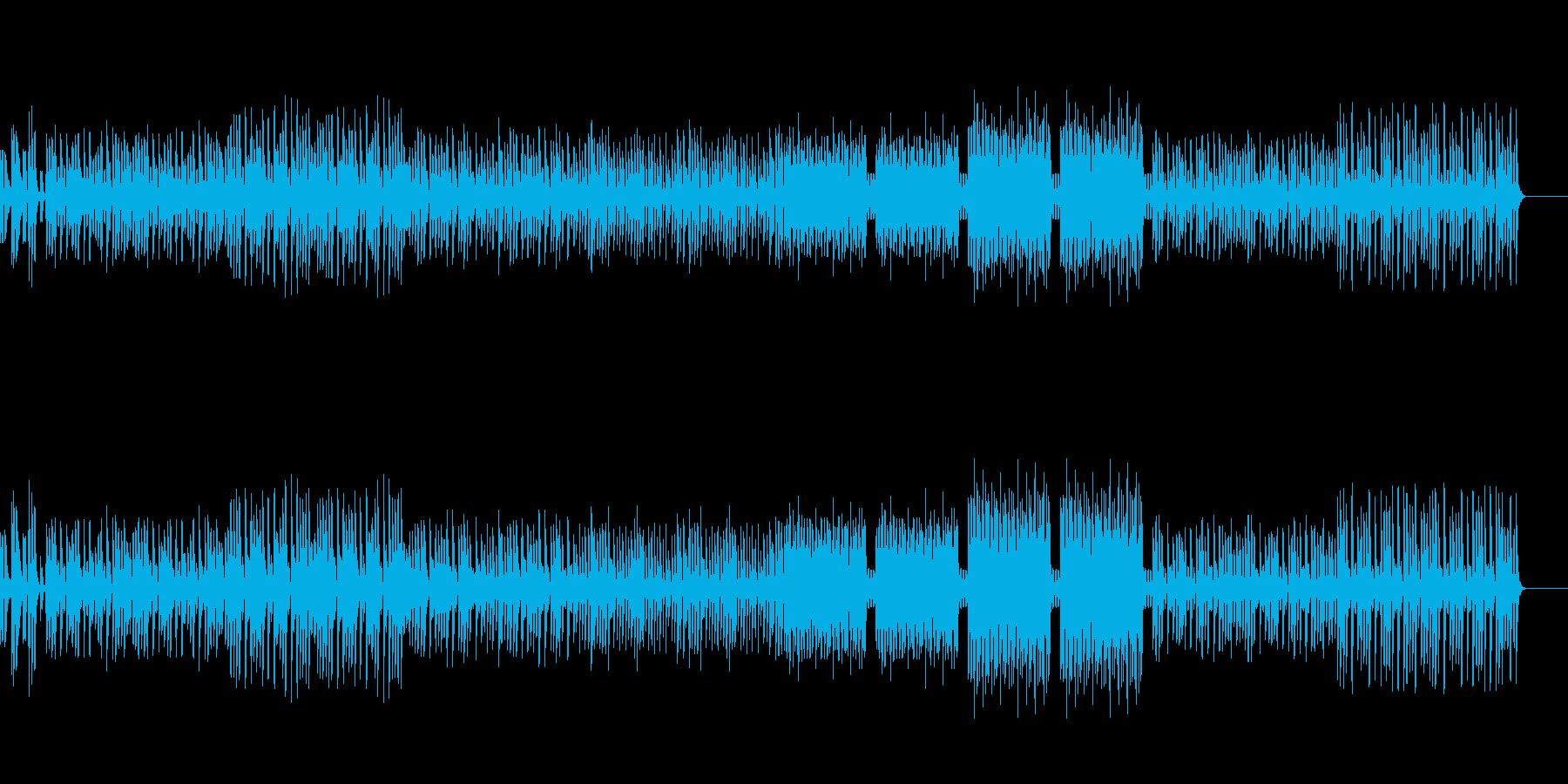 動画 何かをやってみたときのBGM2の再生済みの波形