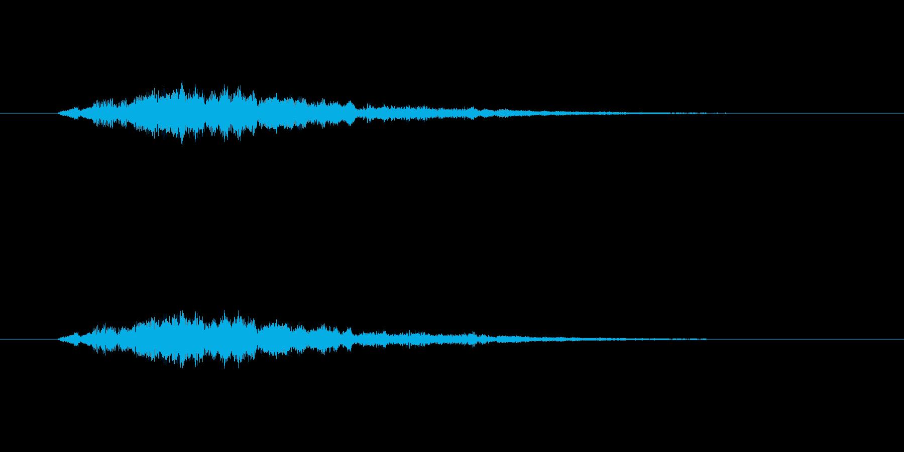 【サイバー09-1】の再生済みの波形