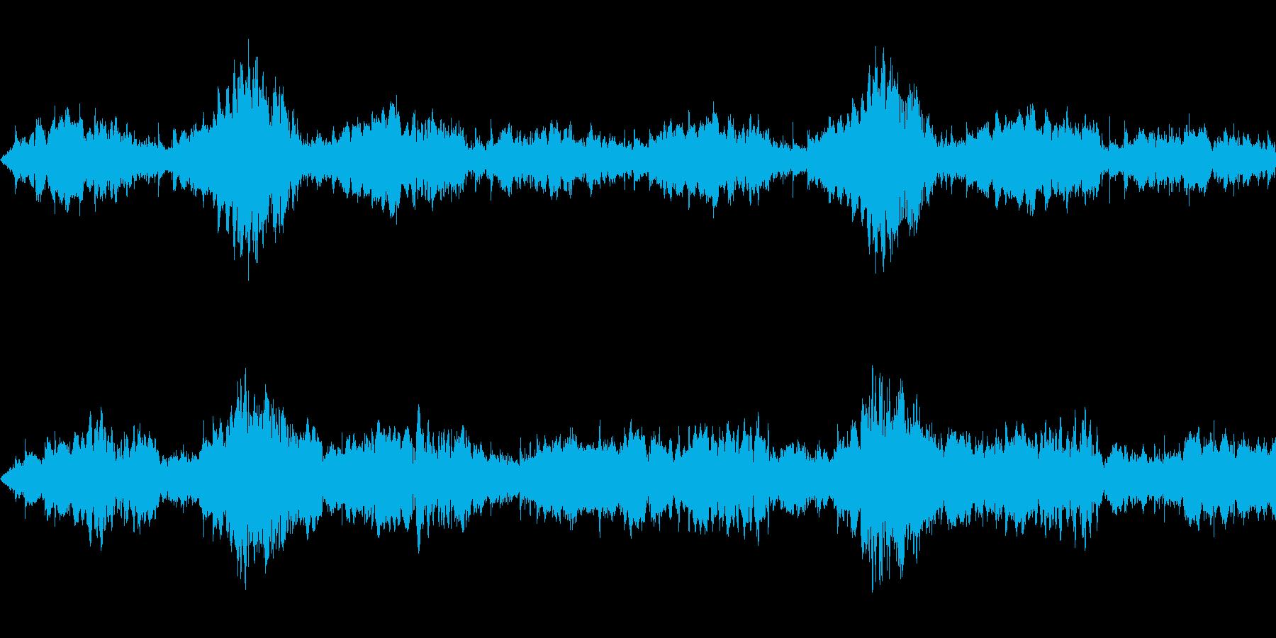 神秘的女性コーラスの幻想的な曲(ループ)の再生済みの波形