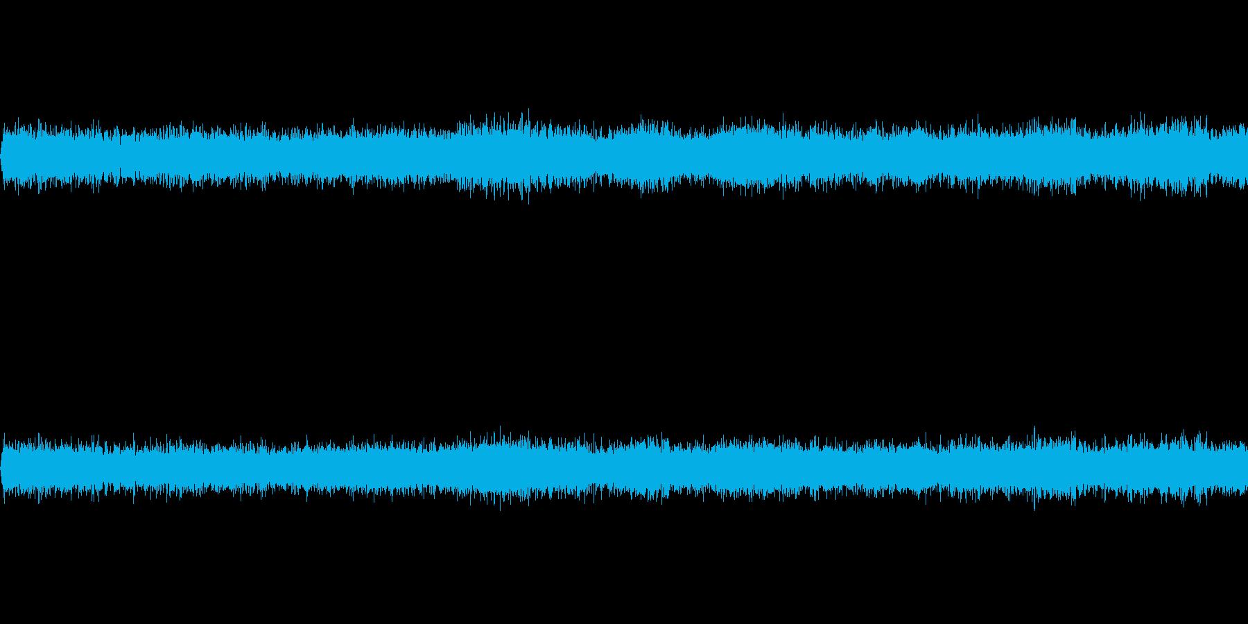 夏の田舎の夜(環境音)/虫の鳴き声の再生済みの波形