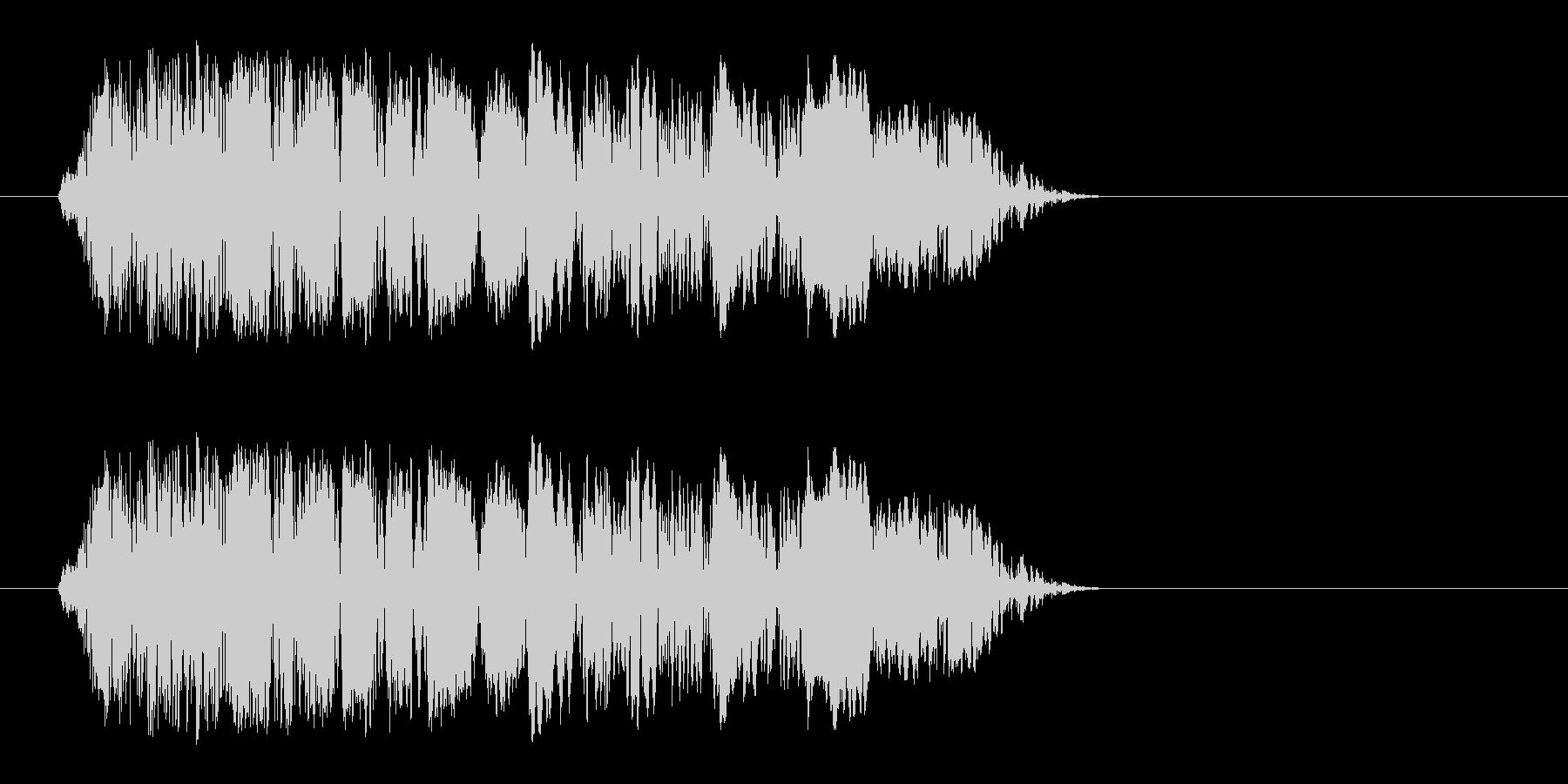 ドパン(植物が芽吹く音)の未再生の波形