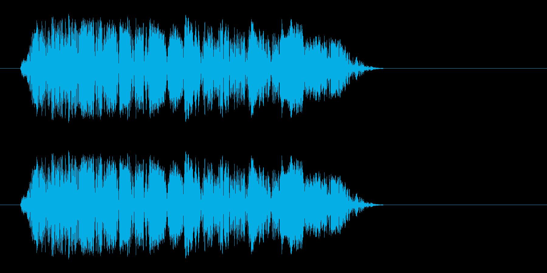 ドパン(植物が芽吹く音)の再生済みの波形
