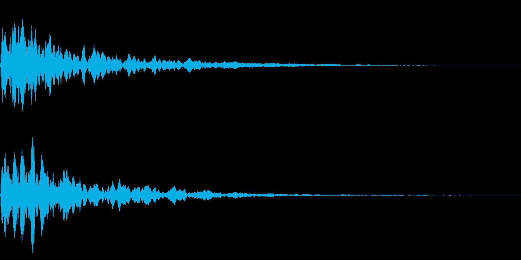 潜水艦_ソナー(ポーン)の再生済みの波形