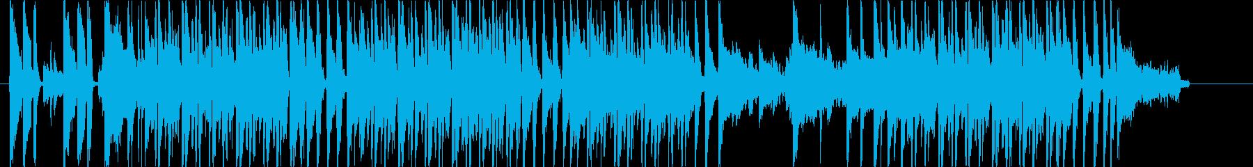朝の情報番組オープニング風ボッサの再生済みの波形