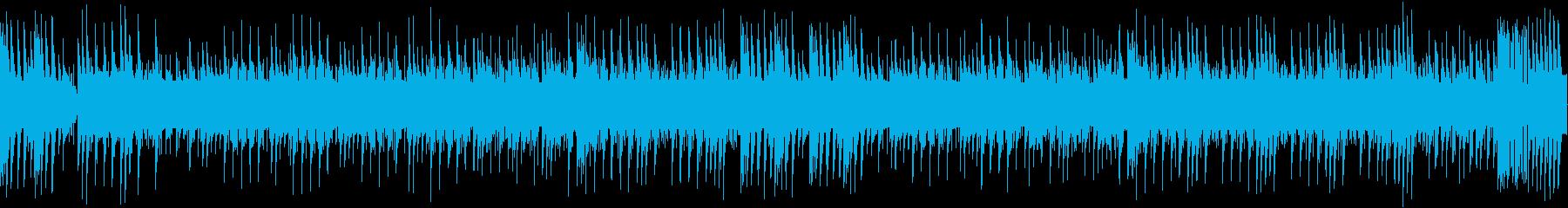 8bit ファンタジーなチップチューンの再生済みの波形
