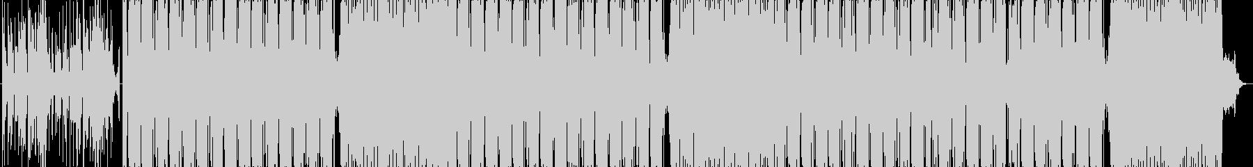 怪しいサイバーエスニックの未再生の波形