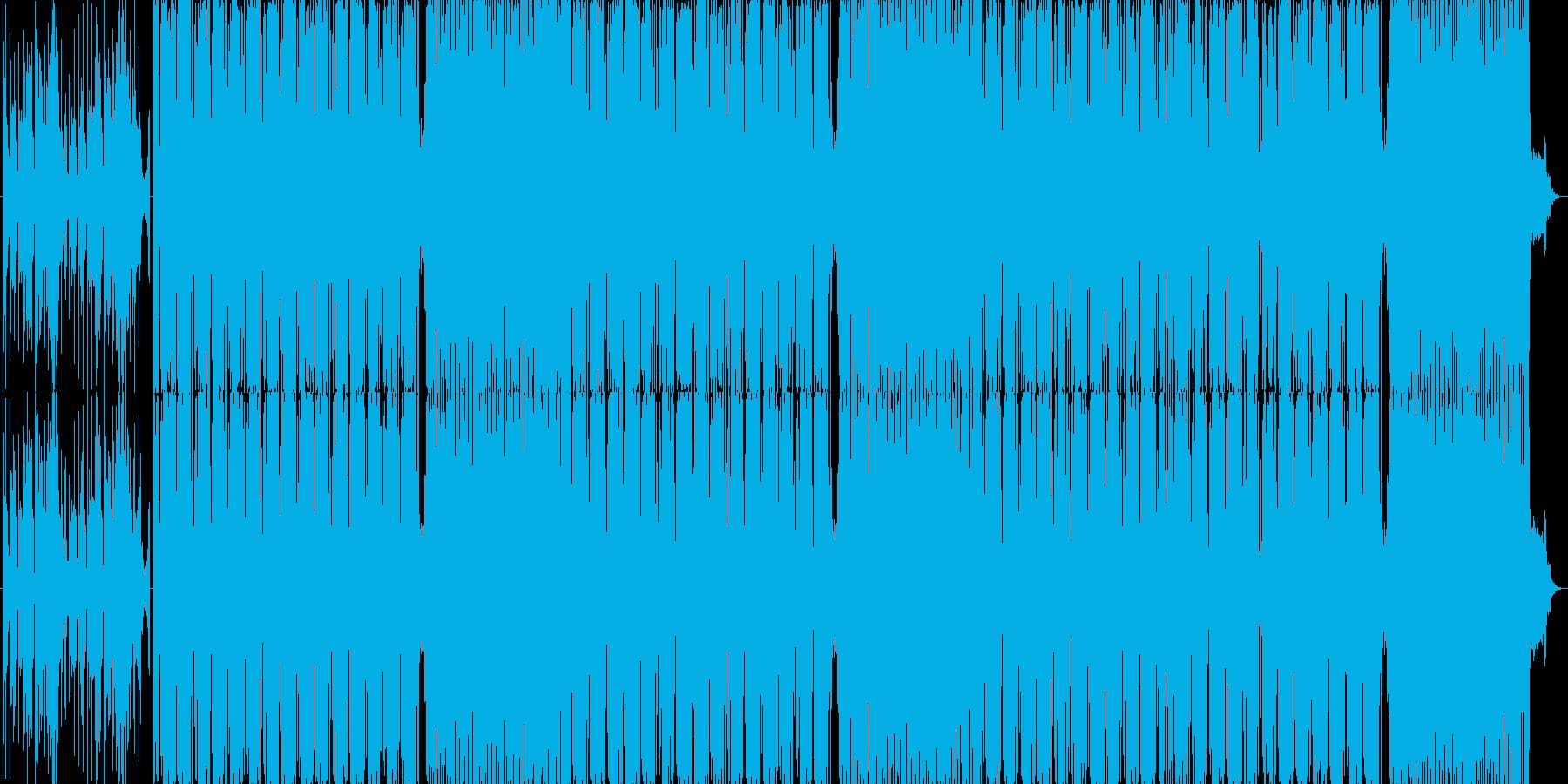 怪しいサイバーエスニックの再生済みの波形