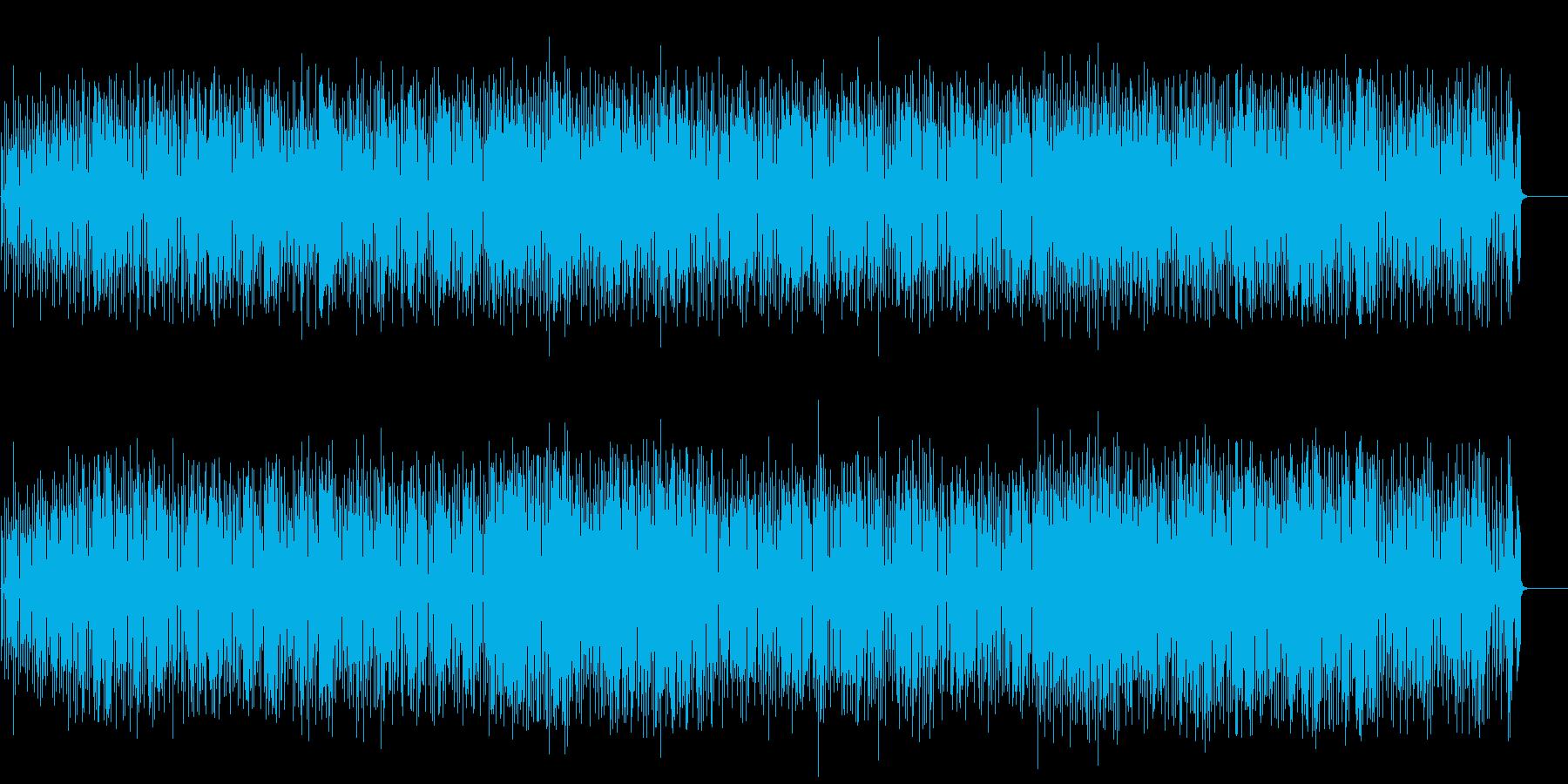 ワクワクするようなマンボ風ポップの再生済みの波形