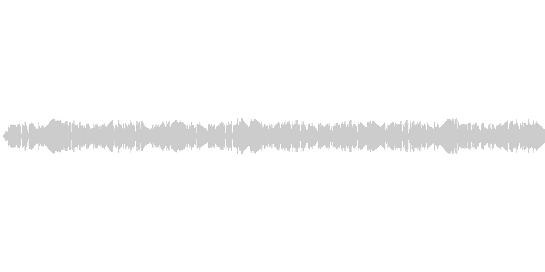 宇宙人が喋っているような電子音ですピロ2の未再生の波形