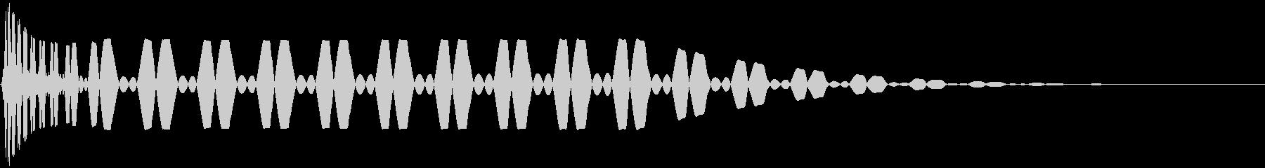 キック/ドラム/デジタル/Key-Fの未再生の波形