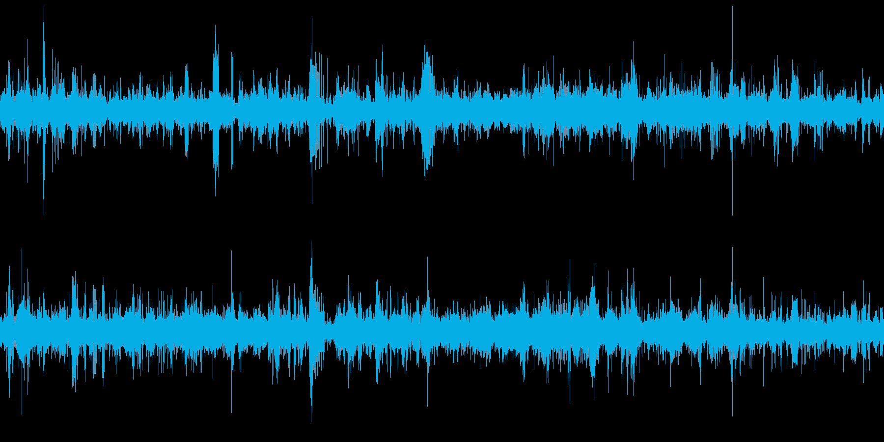 ムードノイズ ホラーの再生済みの波形