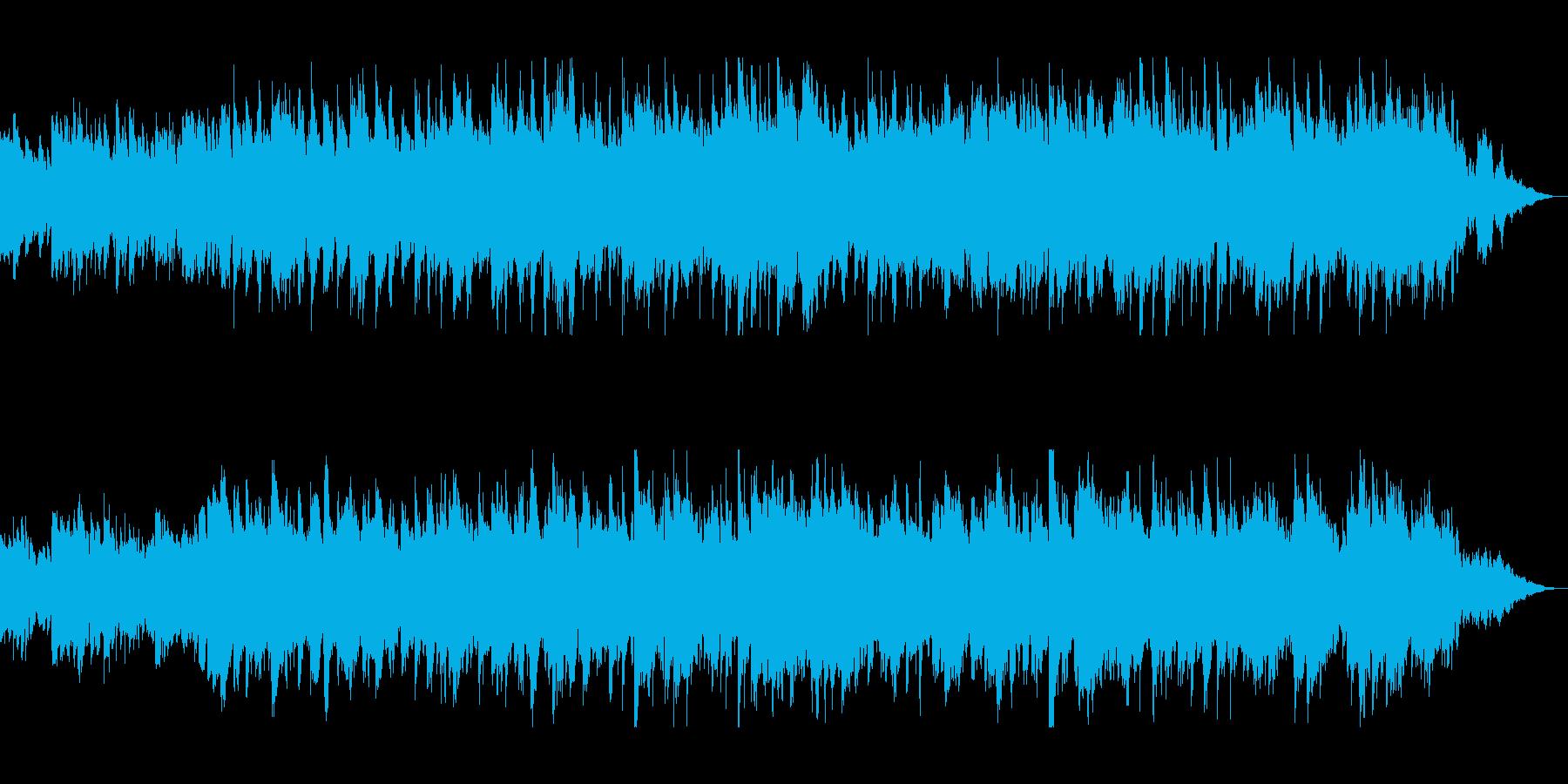 明るいメロディでリラックスできるの再生済みの波形