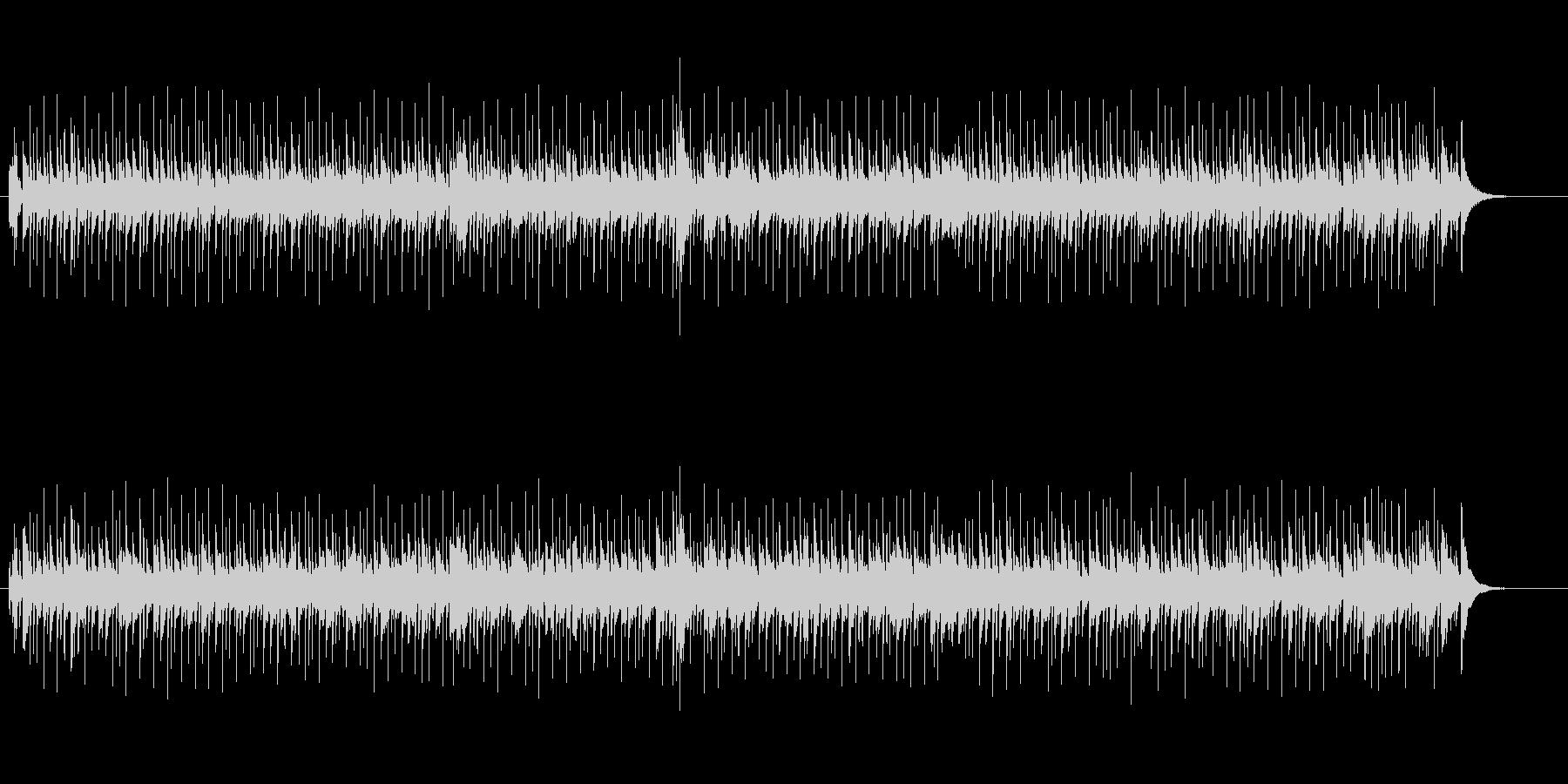 日本的なメロディー(京都の恋)の未再生の波形
