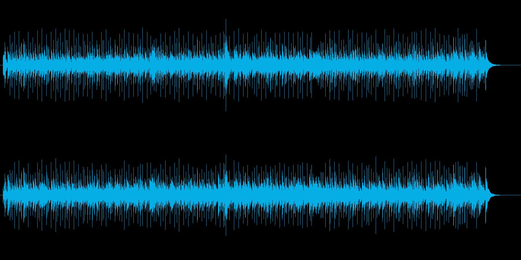日本的なメロディー(京都の恋)の再生済みの波形