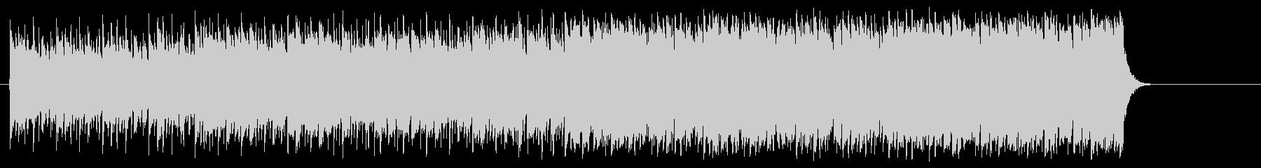 前進する力強いポップ(イントロ~A~…)の未再生の波形