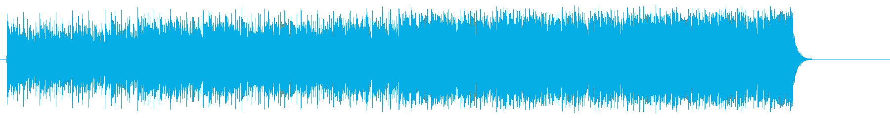 前進する力強いポップ(イントロ~A~…)の再生済みの波形