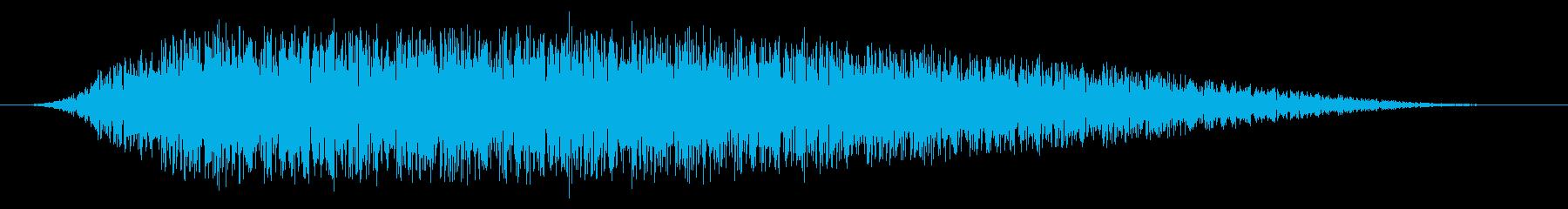 SNES 野球01-09(歓声)の再生済みの波形