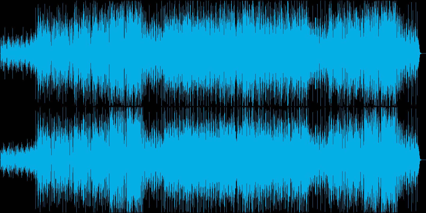 ウッドベースが印象的なラテンPOPの再生済みの波形