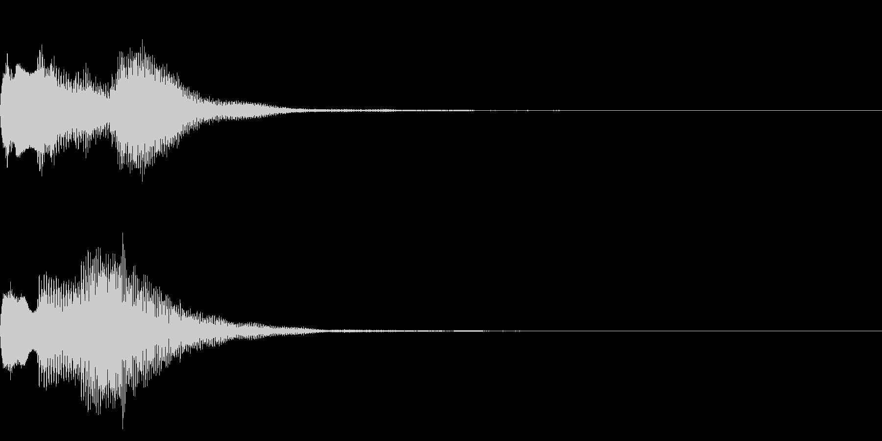 ミステリアスな音 怪しい音 不可解 の未再生の波形