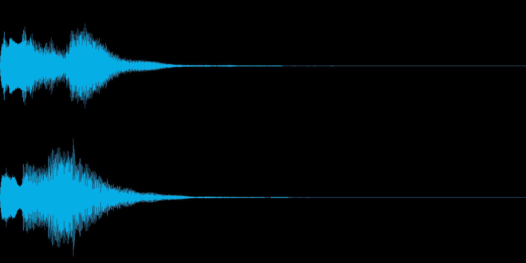 ミステリアスな音 怪しい音 不可解 の再生済みの波形