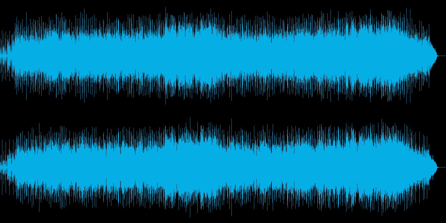 エレクトリックなバラードの再生済みの波形