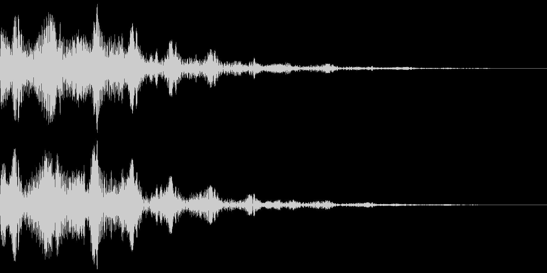 ピニョニョ(エフェクト_パワーダウン)の未再生の波形